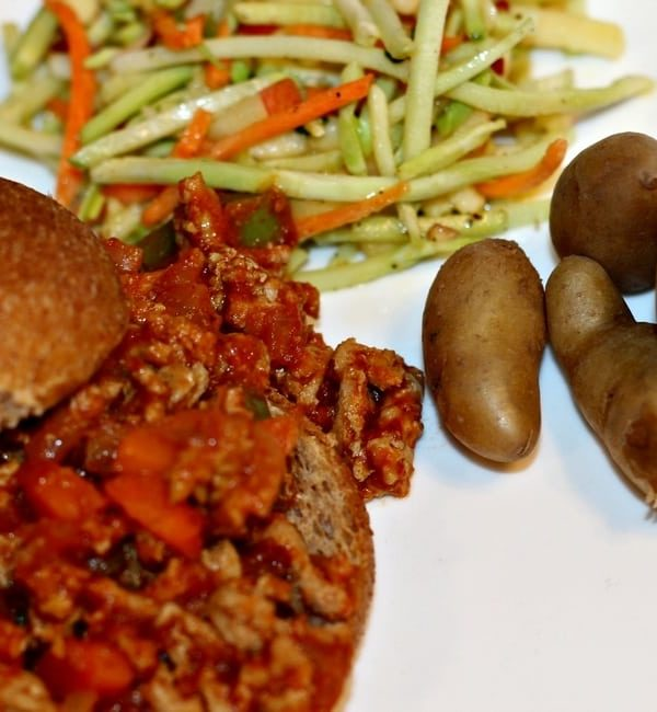 20 Minute Sloppy Joe's with Sides