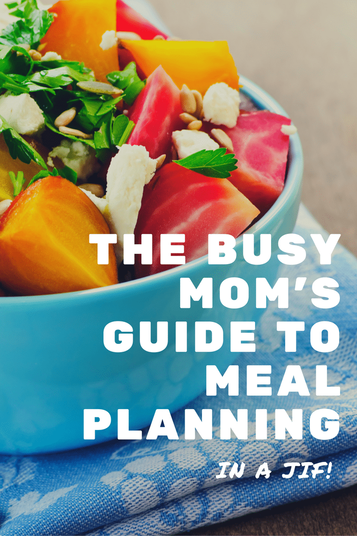 Start meal planning in a jif.  Learn the secret that will save you time while you meal plan