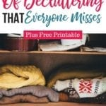 The 5 Secrets of Decluttering That Everyone Misses