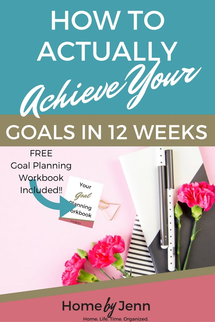 Learn how to actually achieve your goals in 12 weeks in this post. It couldn