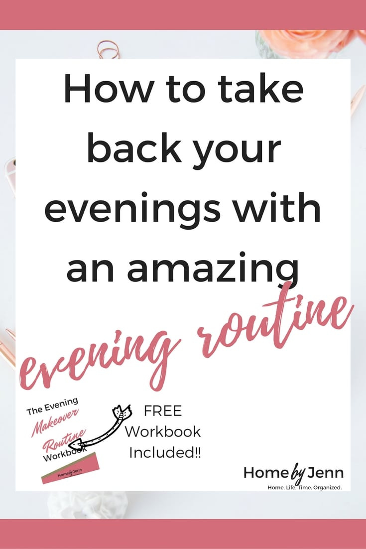 Learn the exact steps you need to take to make over your evenings.  You