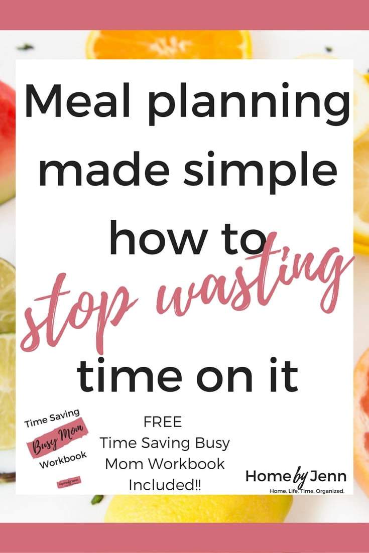 Are you tired of how much time it takes to create a meal plan?  You