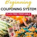 Busy Mom Beginning Couponing System
