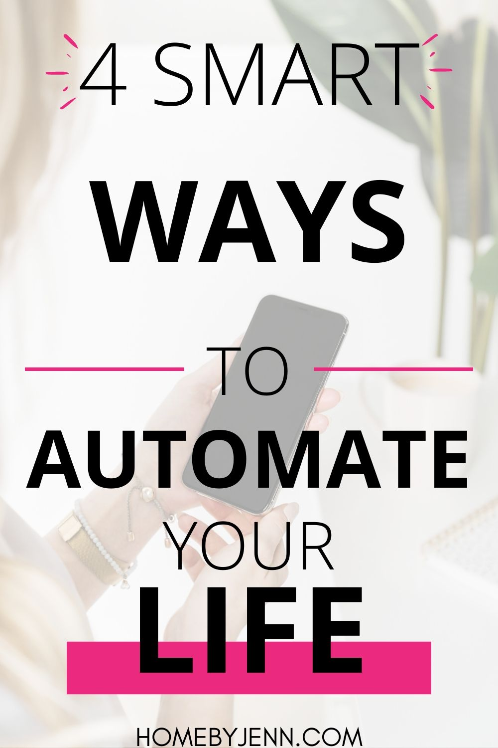Time management tips for anyone who needs to save time. These time saving tips by using automating apps will help you organize your time. #timemanagement #timemanagementtips #timesavingtips #timesaving #busymomtimesavingtips via @homebyjenn