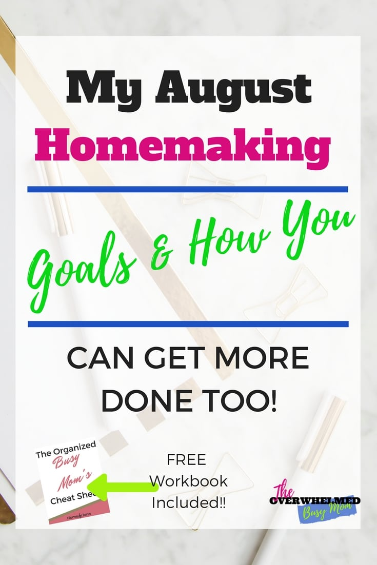 Do you want to accomplish some of your goals?  In this post, Jenn shares her goals and complete plan of attack about how she