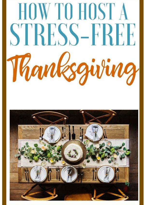 Hosting Thanksgiving