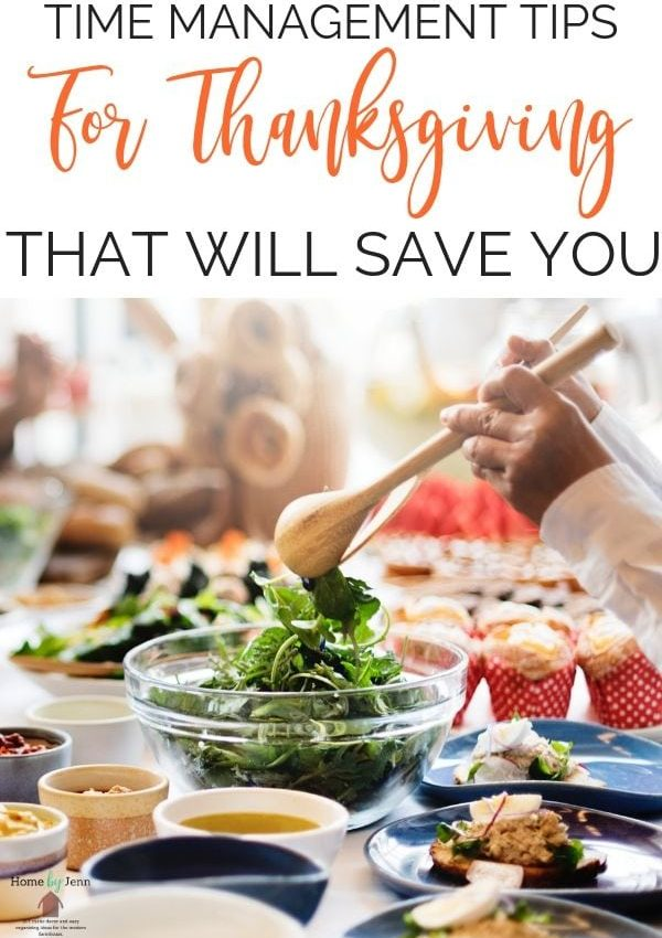 Time management tips for Thanksgiving