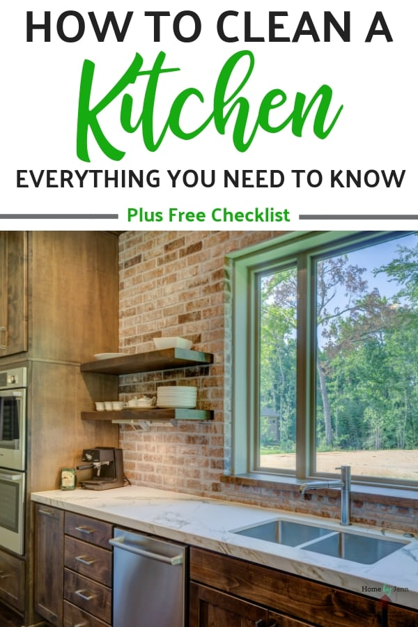 How To Clean A Kitchen: Everything You Need To Know