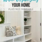 How To Save Money While Organizing Your Home
