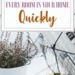 How to declutter every room in your home quickly