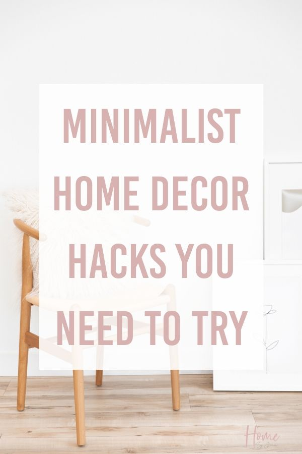 Minimalist home decor ideas via @homebyjenn