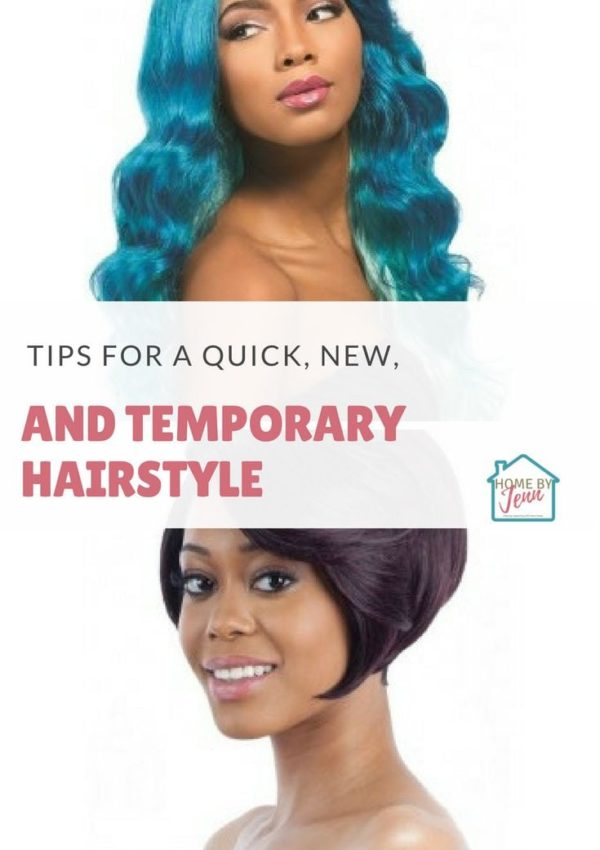 Tips For A Quick, New, And Temporary Hairstyle
