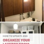 How To Update And Organize Your Laundry Room