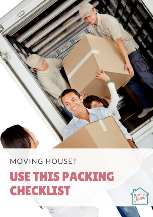 Moving House? Use This Packing Checklist