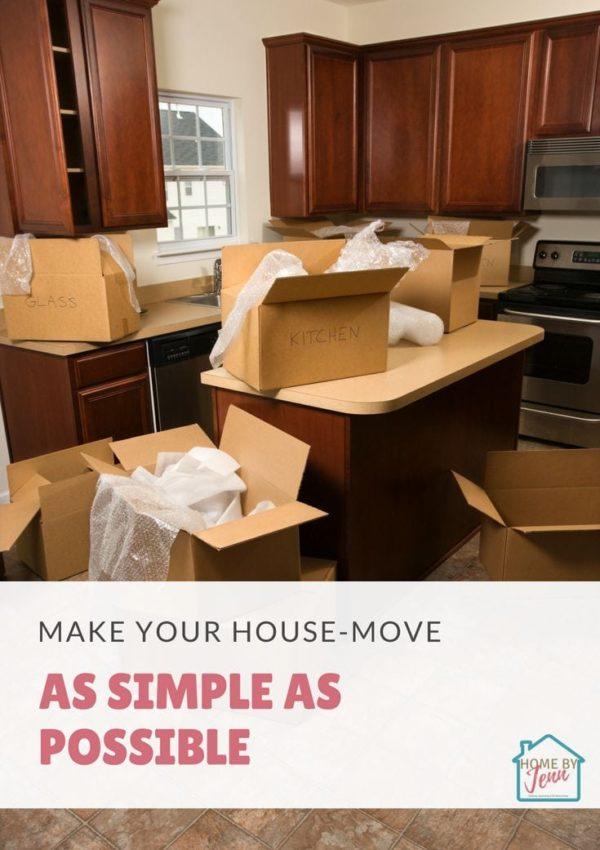 Make Your House-Move As Simple As Possible