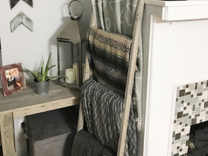 blanket ladder idea