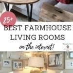 The Best Farmhouse Living Room Tours For Inspiration