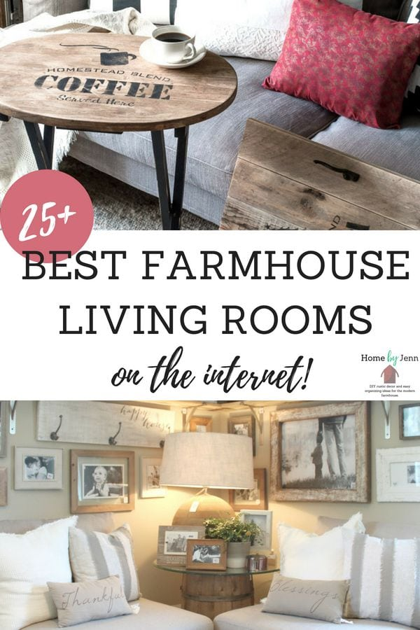 farmhouse living rooms