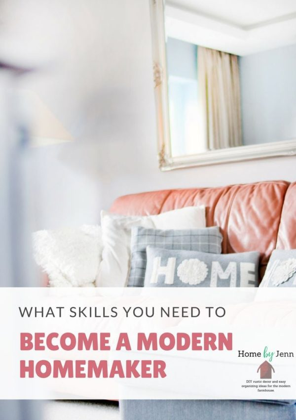 Modern Homemaking: How To Keep A Home & Keep Your Sanity