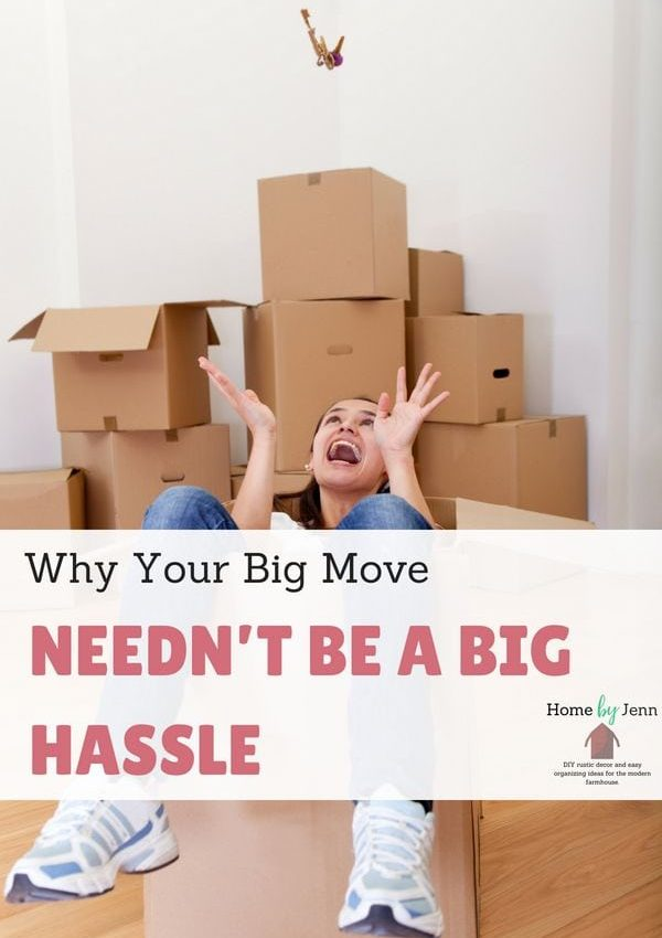 Why Your Big Move Needn't Be A Big Hassle