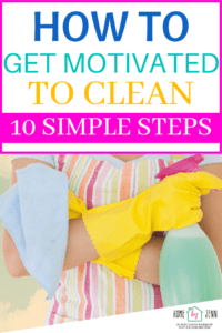 cleaning motivation