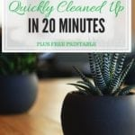 Clean House Tips You Can Complete In 20 Minutes