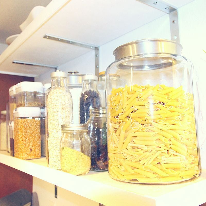 Here are some pantry storage ideas.