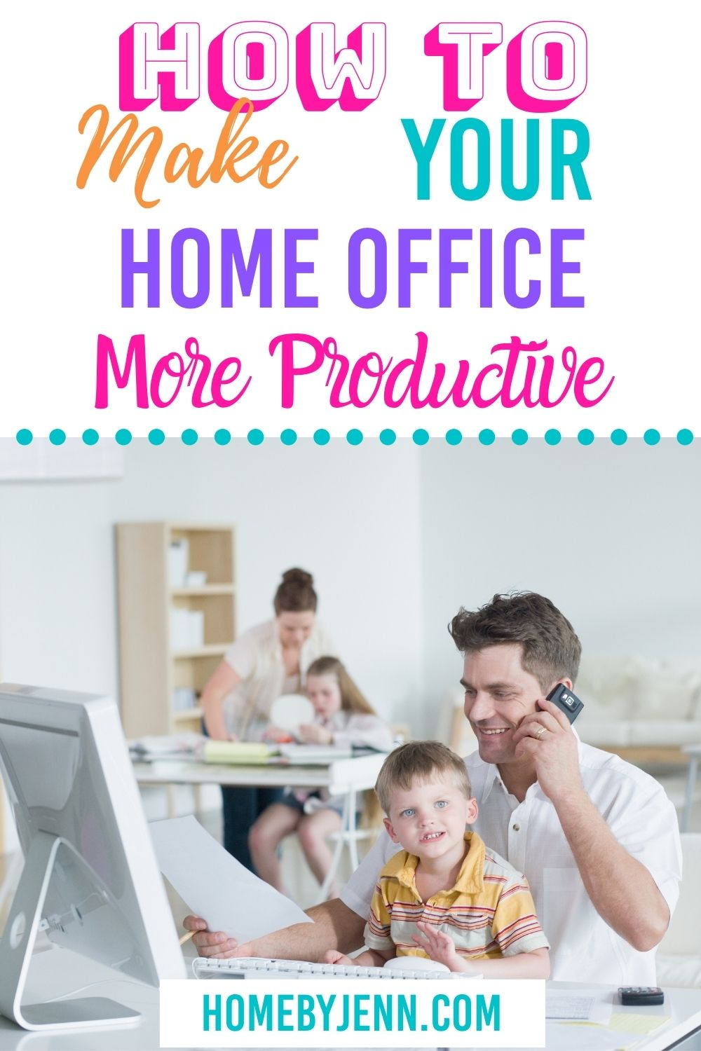 With the pandemic continuing on it's important to have a productive home office space. Today I'm going to share how to make your home office more productive. These are simple things you can do to help increase productivity while working in your home office. via @homebyjenn