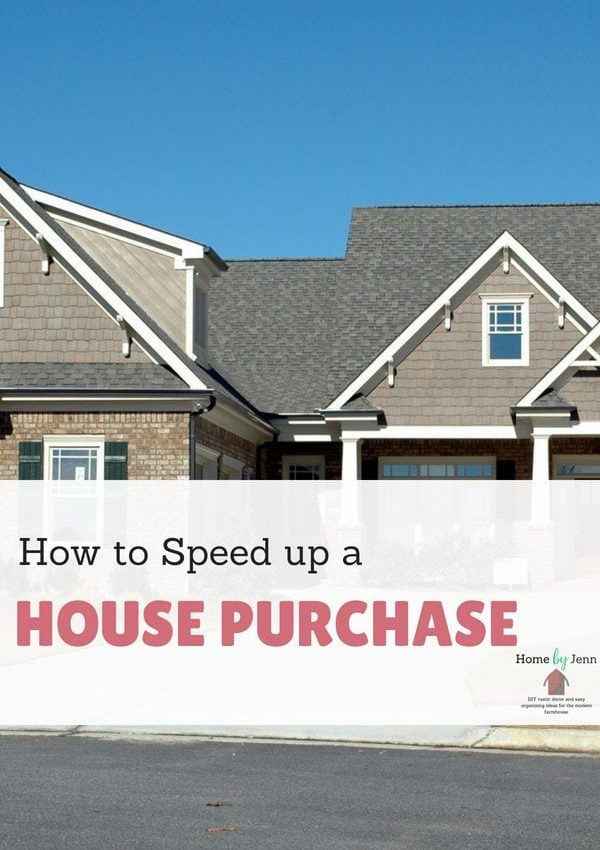 How to Speed up a House Purchase