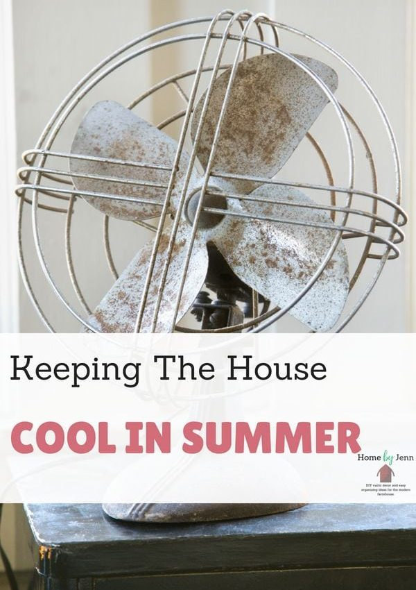 Keeping The House Cool In Summer