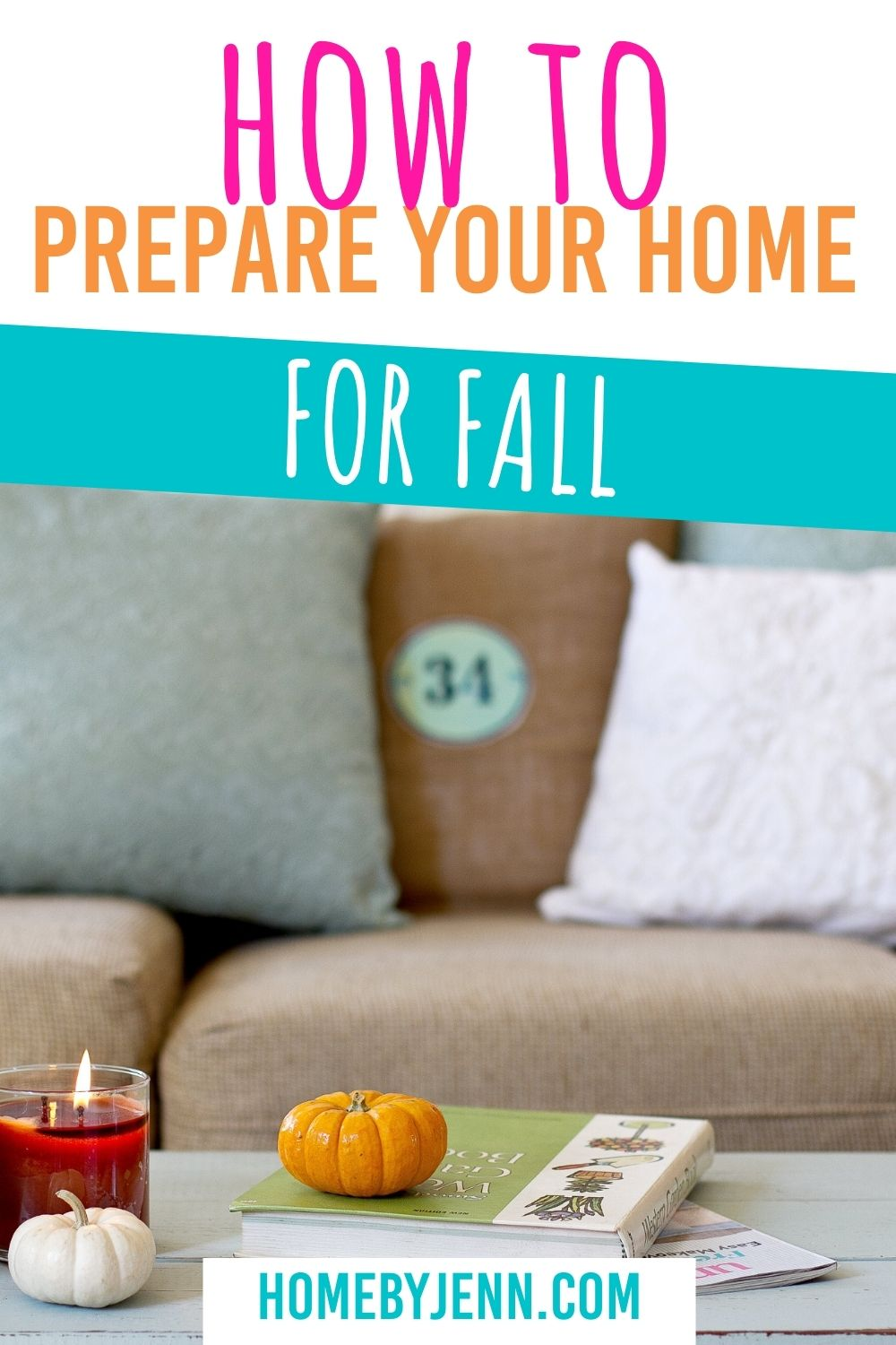 It's important to prepare your home for fall. When the wind and the rain hit it can be hard to get out and maintain your home. Let's look at what you can do to prepare your house for fall. via @homebyjenn