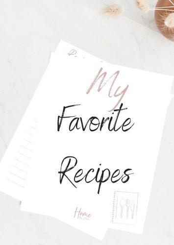 How to Make a Recipe Organizer Binder