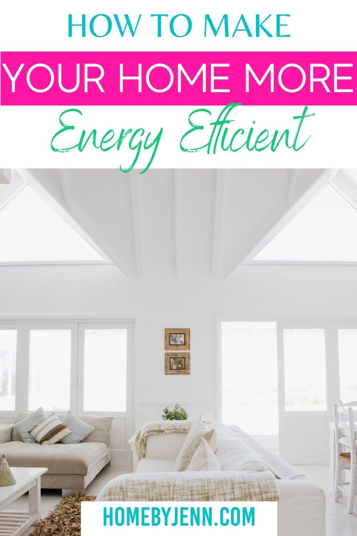 Energy Efficient Home via @homebyjenn