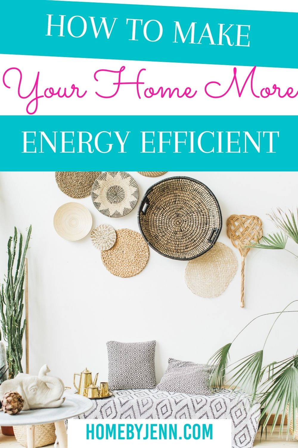 Learn how to make your home more energy efficient. There are simple things you can do to increase your home's efficiency that will also save you money. Let's look at some low-cost savings you can implement today. via @homebyjenn