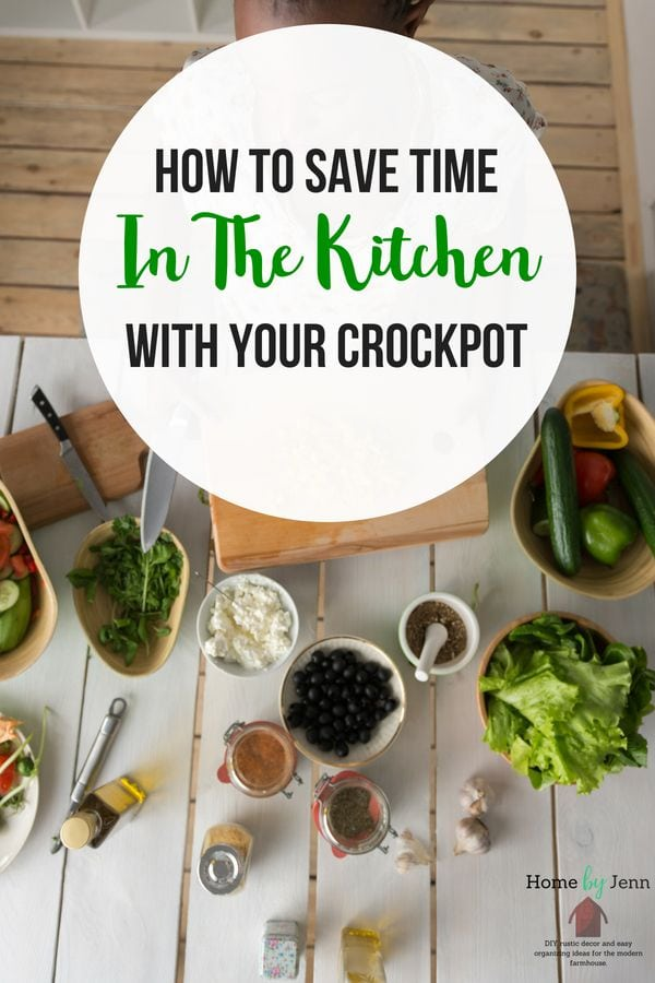 Learn how using your crock pot will save you time.  Get some tasty and healthy crock pot meals that will save you time. #slowcooker #crockpot #mealplan #dinners #dinnerideas #setitandforgetit