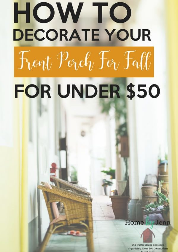 Frugal ways to decorate for fall