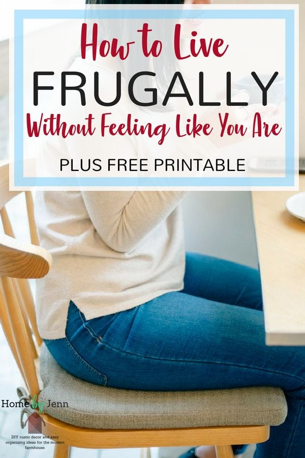 If you are tired of feeling like you are living frugally and want to enjoy some of the finer things in life, then you need this post. Enjoy living a budget friendly life while sticking to your budget and your frugal ways. #budget #frugal #livingonabudget #frugaltips #budgettips
