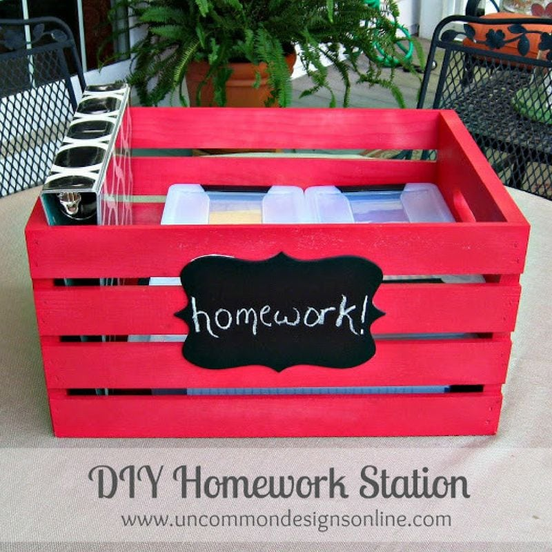 back to school organization diy
