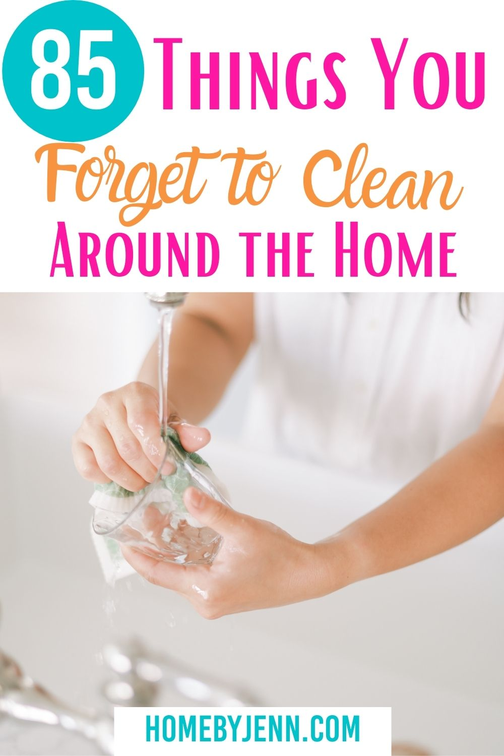 You probably have a list of chores that you do regularly that are part of your weekly cleaning schedule that maintains the cleanliness of your home. However, there are things you forget to clean and I'm going to cover those in this post. via @homebyjenn