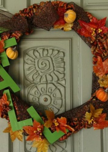 Simple DIY Fall Wreath Ideas + Video Tutorial