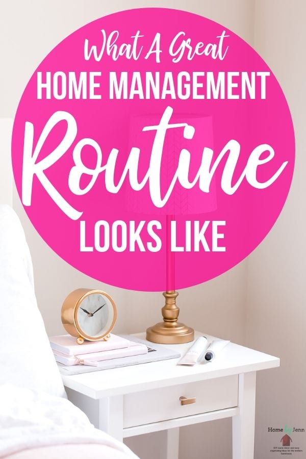 Home Management Routine