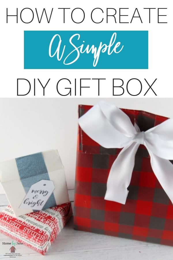 When it comes to wrapping presents finding good fitting boxes can be tricky.  In this post, I'm going to show you how to create DIY gift box.  #diy #giftbox #howtocreate