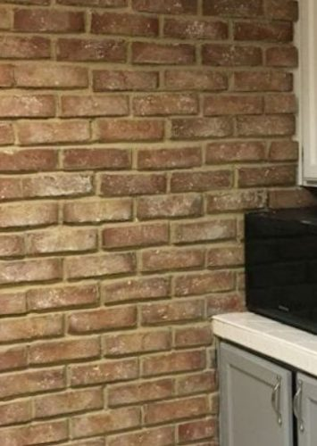 How To Make A Brick Accent Wall For Your Kitchen