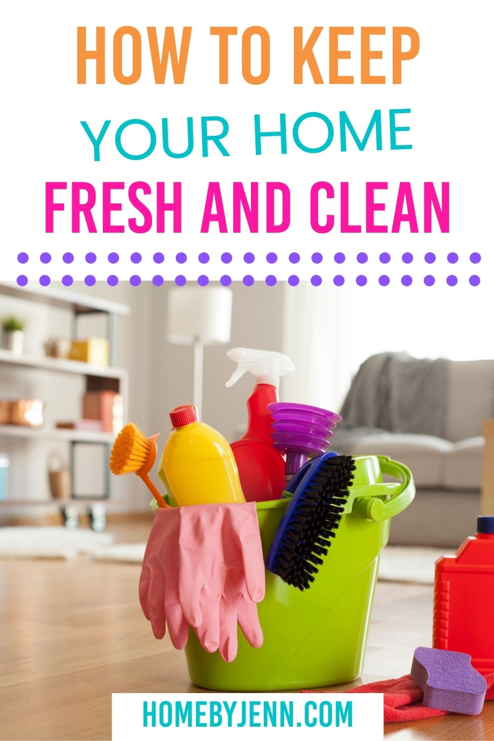 home fresh and clean via @homebyjenn