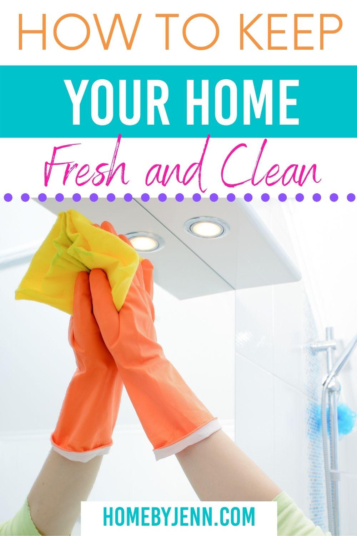 home fresh and clean via @homebyjenn