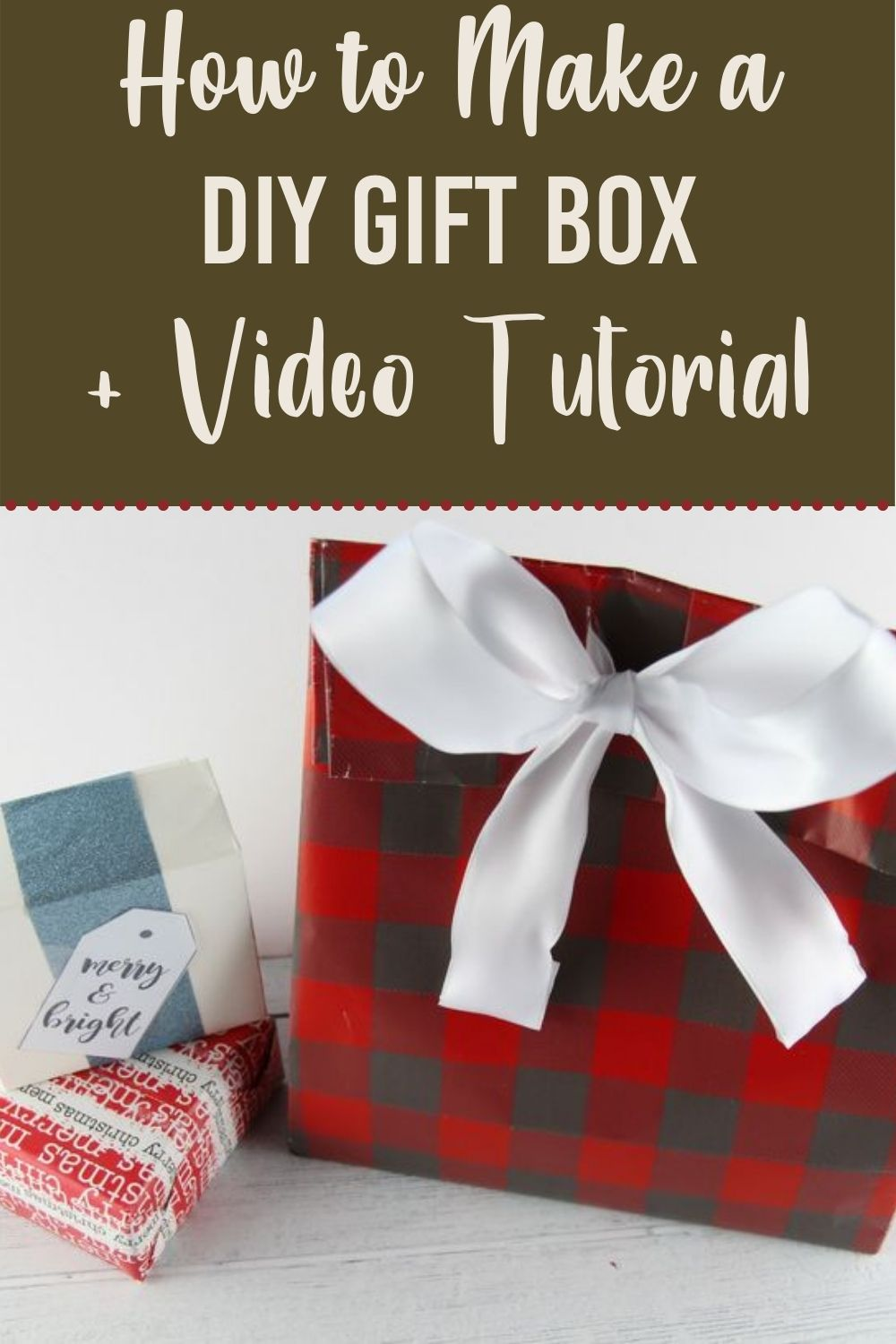 When it comes to wrapping presents finding good fitting boxes can be tricky.  In this post, I'm going to show you how to create DIY gift box.  #diy #giftbox #howtocreate via @homebyjenn