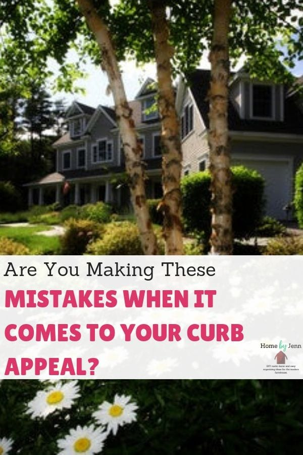 Are You Making These Mistakes When It Comes To Your Curb Appeal? via @homebyjenn