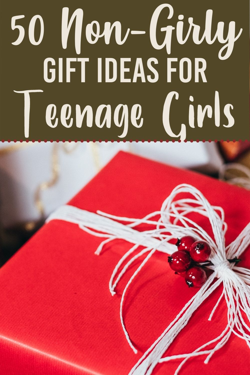 Are you looking for some Non-Girly Gifts for Teenage Girls? Look no further than this amazing list of ideas that will appeal to the girl in your life. #gifts #giftideas #nongirly #teenage #birthday #christmas #whattobuy via @homebyjenn