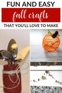 paint crafts for fall