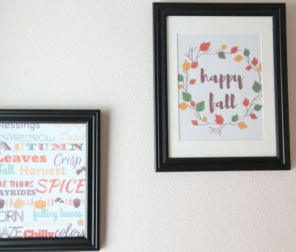 printable fall wall art